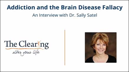Is Addiction a Disease? An Interview with Dr. Sally Satel